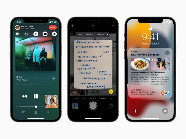 Apple has officially unveiled iOS 15, macOS Monterey, iPadOS 15 and watchOS 8 during WWDC 2021