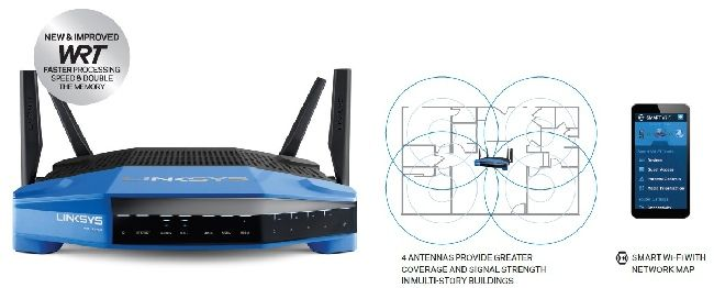 linksys dual band router