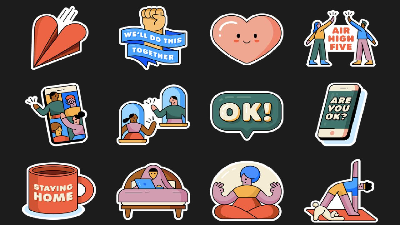 WhatsApp animated stickers