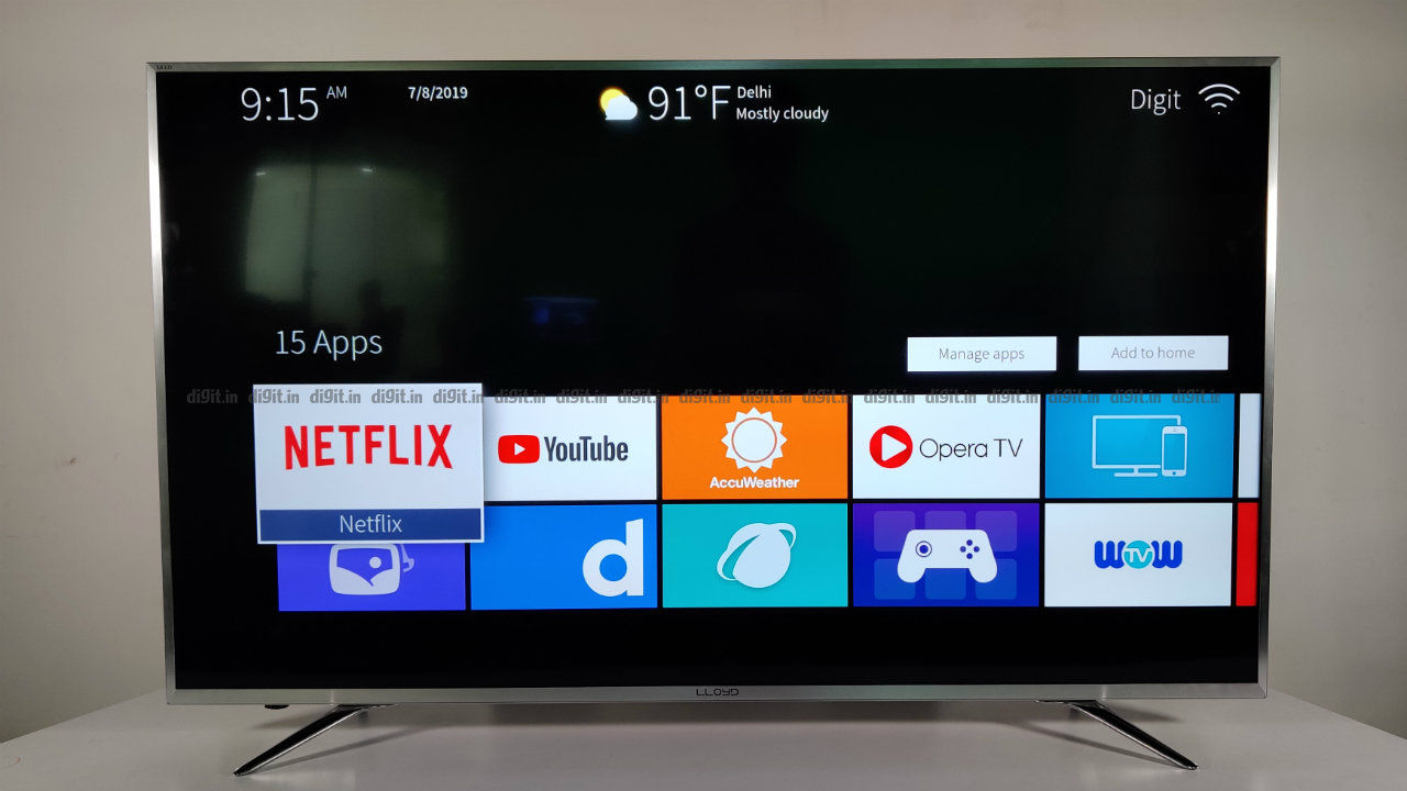 Lloyd 55 Inches 4K Ultra HD LED Smart TV (L55U1X0IV) Review