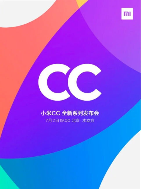 Xiaomi CC-Series Launch