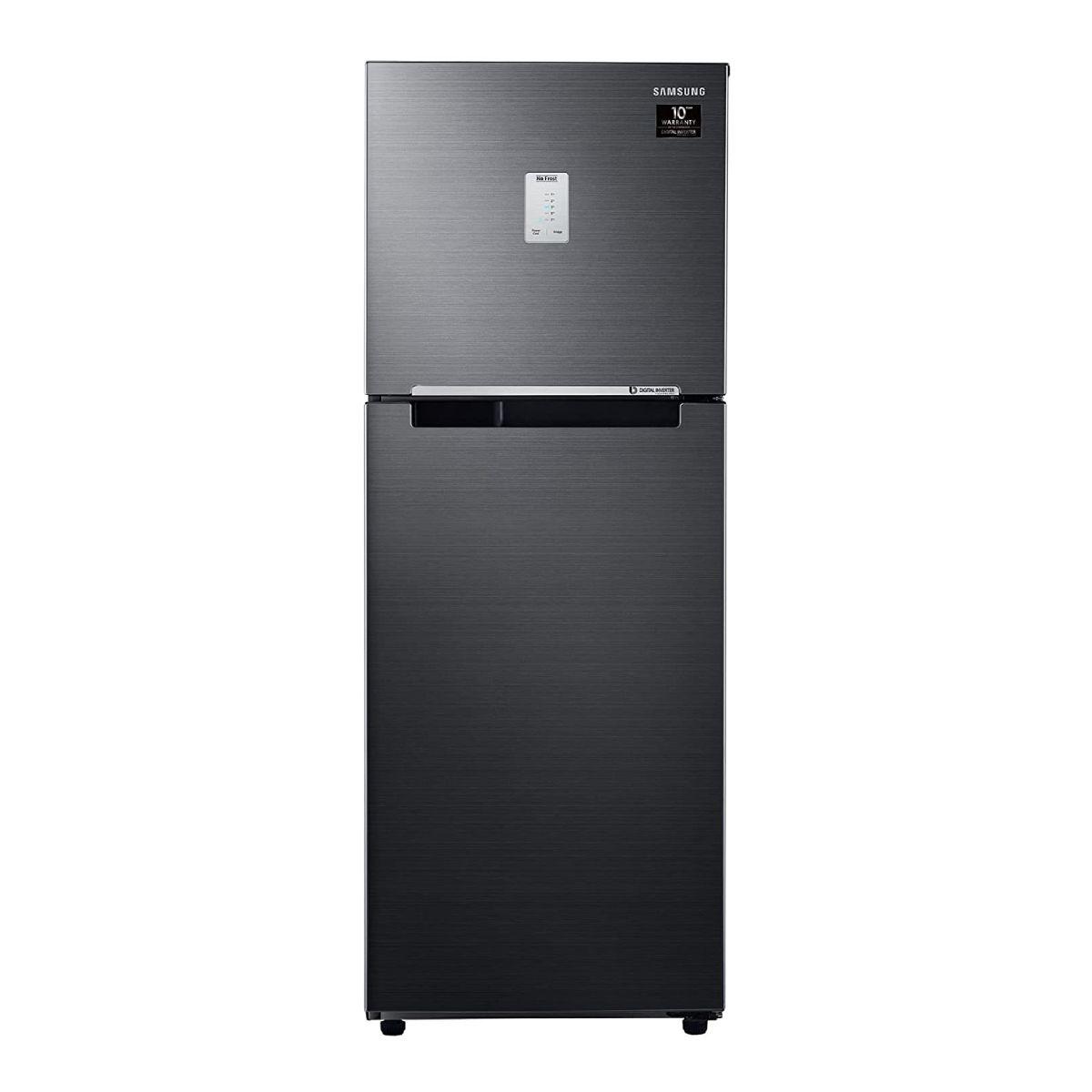 Samsung 253 L 3 Star Digital Inverter Frost Free Double Door Refrigerator (RT28A3453BX/HL)