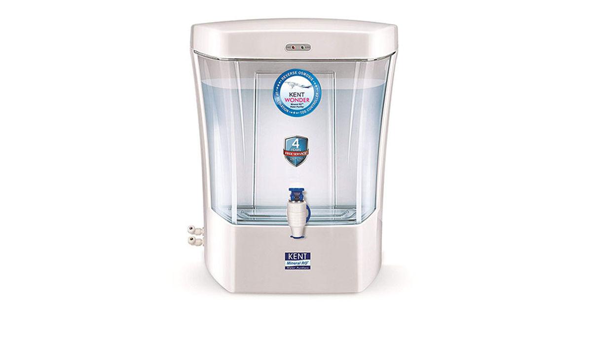 Kent wonder 7 L UV + UF Water Purifier (White)