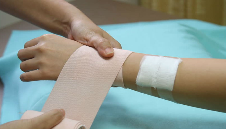 Image result for wound bandage