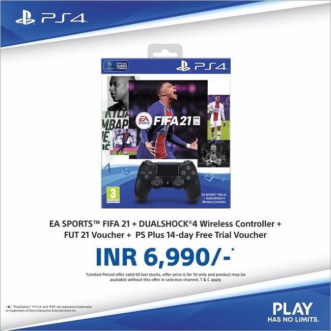 DualShock 4 FIFA 21 Bundle discount