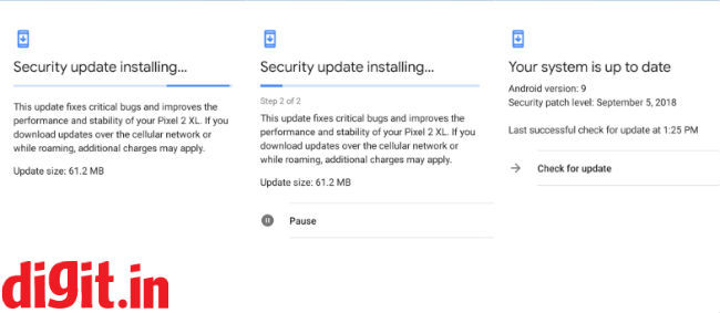 Google rolls out September security update for Pixel and