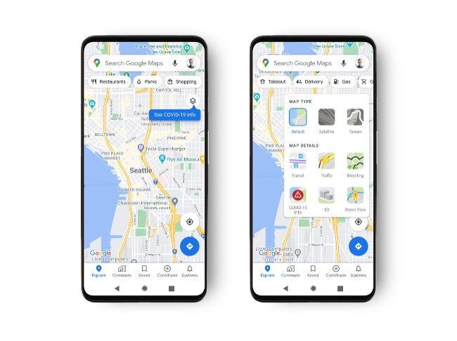 Google Maps adds COVID-19 layer on Android and iOS