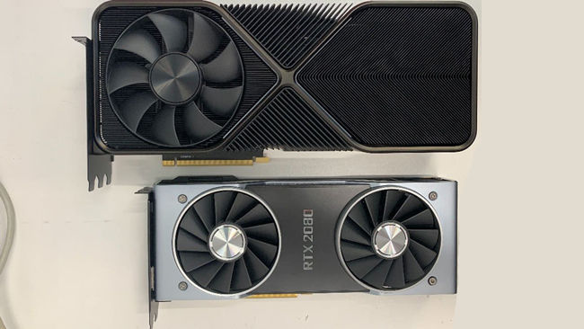 NVIDIA RTX 3090 Graphics Card against RTX 2080
