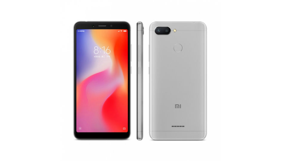 Xiaomi Redmi 6, Redmi 6A with 5.45-inch 18:9 display, face unlock...