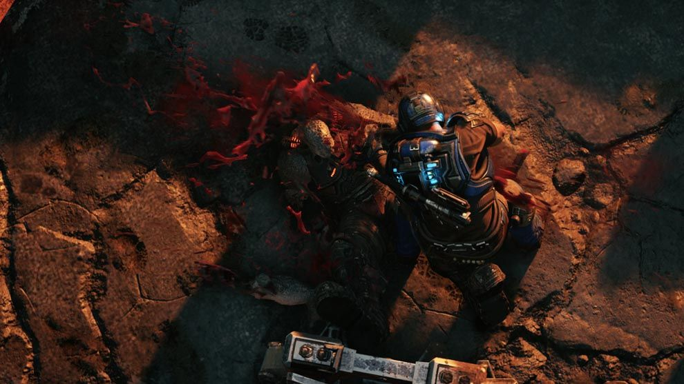 Gears Tactics has the right visual treatment for a game belonging to the Gears of War franchise