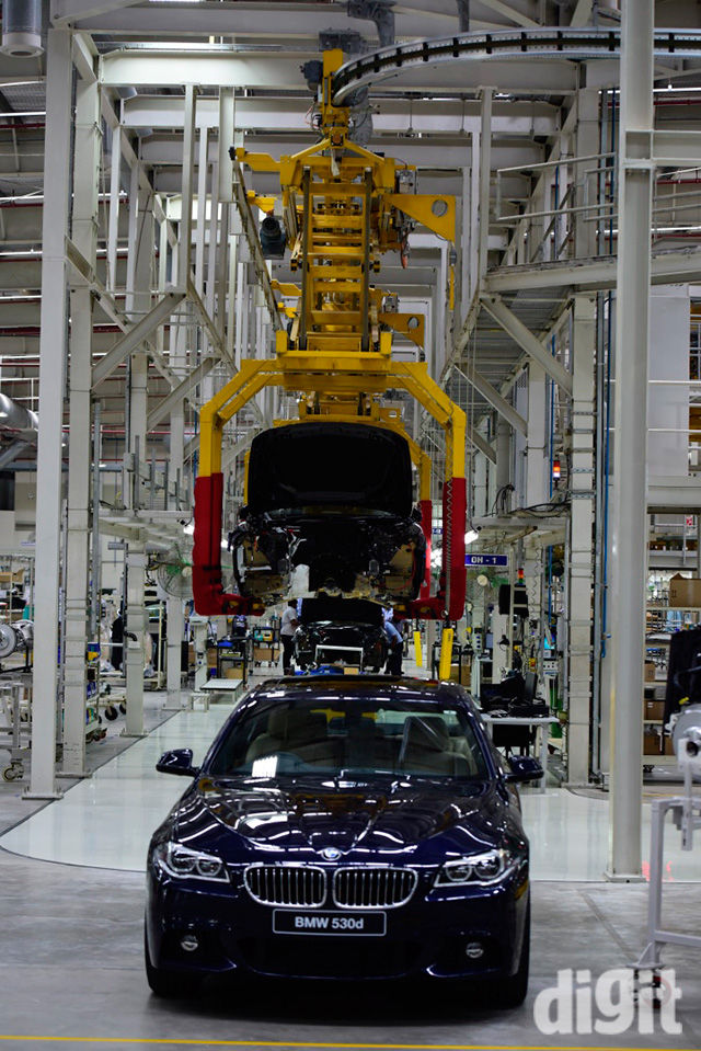 Bmw Joins The Make In India Bandwagon By Increasing Localisation Up