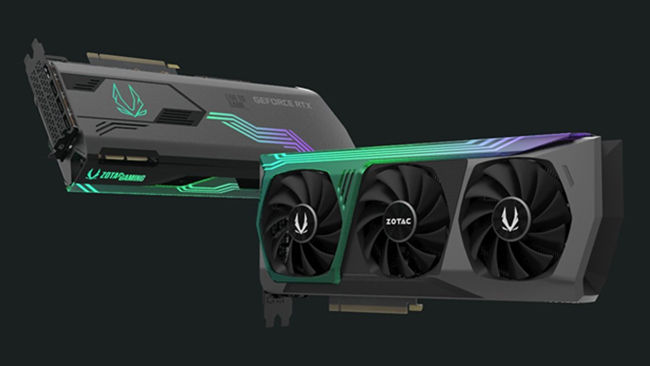 ZOTAC GAMING GeForce RTX 3090 AMP Extreme Graphics Card Ampere