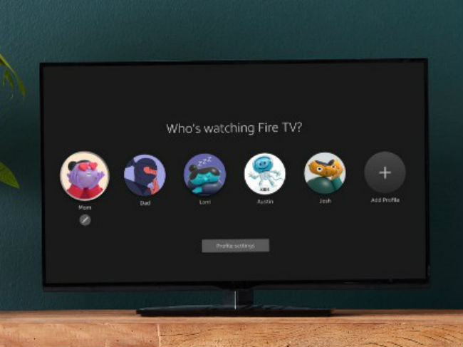 User profiles making its way to the Fire TV UI.