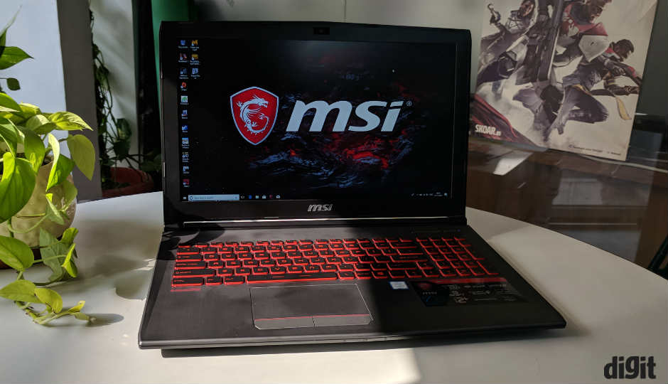MSI GV62 7RE Review | Digit.in