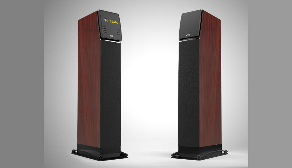 Jvc Th Dkn80 Tower Speaker With Three Way Acoustic Design