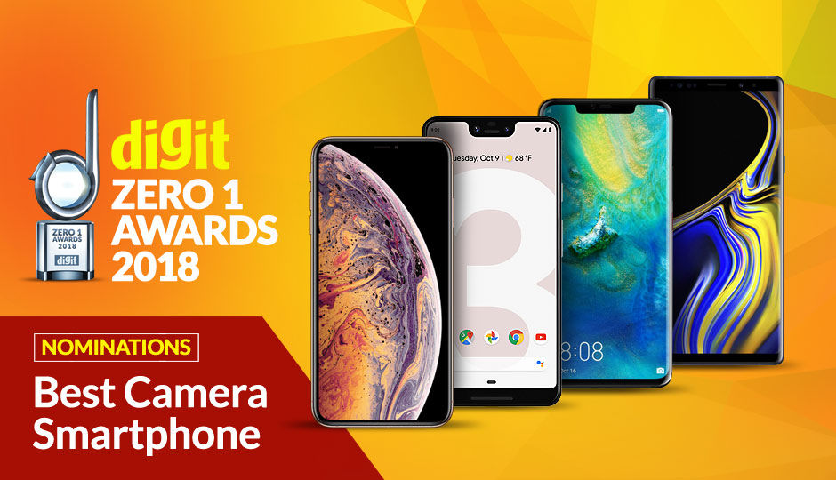 Digit Zero1 Awards 2018: Nominations for Best Camera Smartphone
