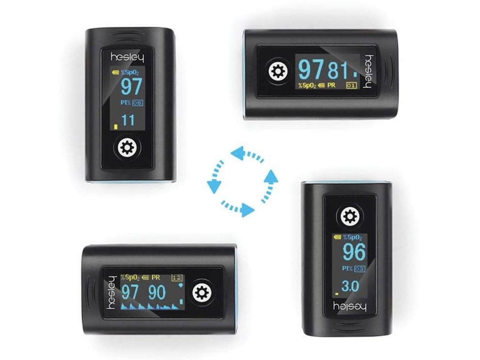 Hesley Pulse Oximeter features