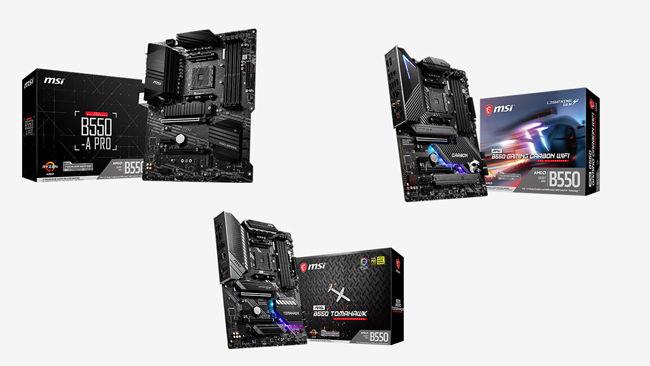 MSI AMD B550 MAG MPG PRO Ryzen Motherboards