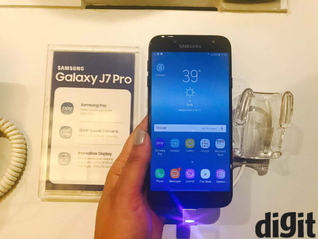ca0d12cdcd The Samsung Galaxy J7 Pro comes with a 5.5-inch Full HD Super AMOLED  display and is powered by a 1.6Ghz Exynos octa-core SoC with 3GB of RAM.