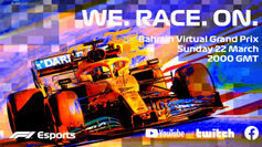 Formula 1 Virtual Grand Prix Series to replace F1 races postponed by the COVID-19 Coronavirus