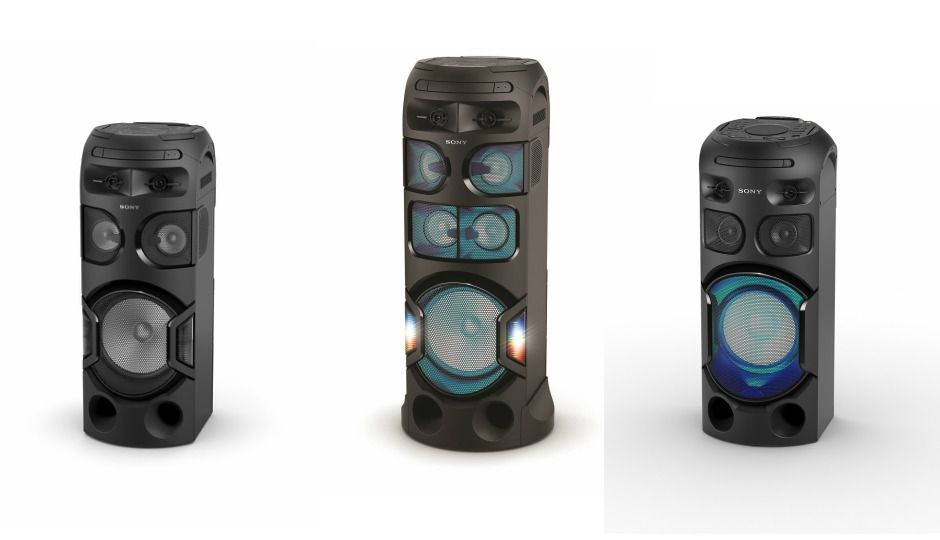 Sony Launches New Mhc Series Of Audio Systems In India