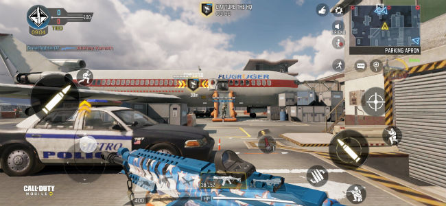 Call of Duty: Mobile's Headquarters mode tasts you with capturing locations on a map