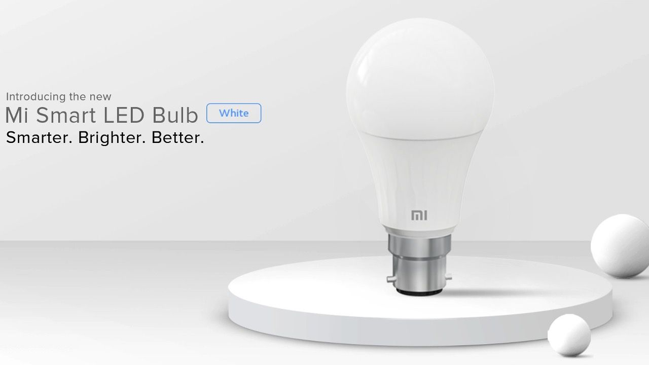 Xiaomi Mi Smart LED Bulb with B22 base launched in India: Price, features  and availability | Digit