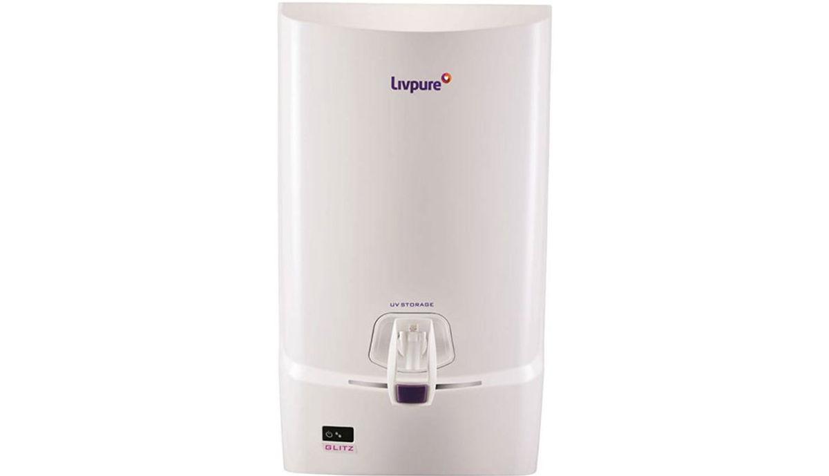 Livpure Glitz 7 L UV + UF Water Purifier (White)