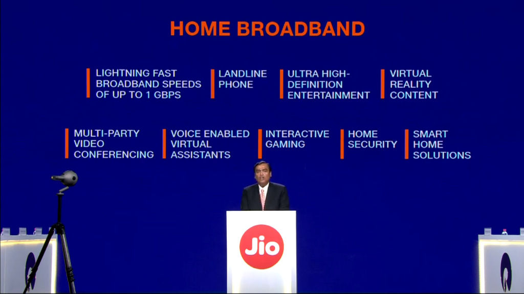 Jio 4K Set Top Box doubles up as a console-gaming service, drawing room video conferencing device and more