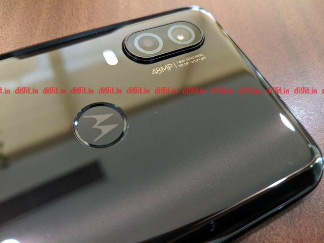 Moto One Vision Dual Camera