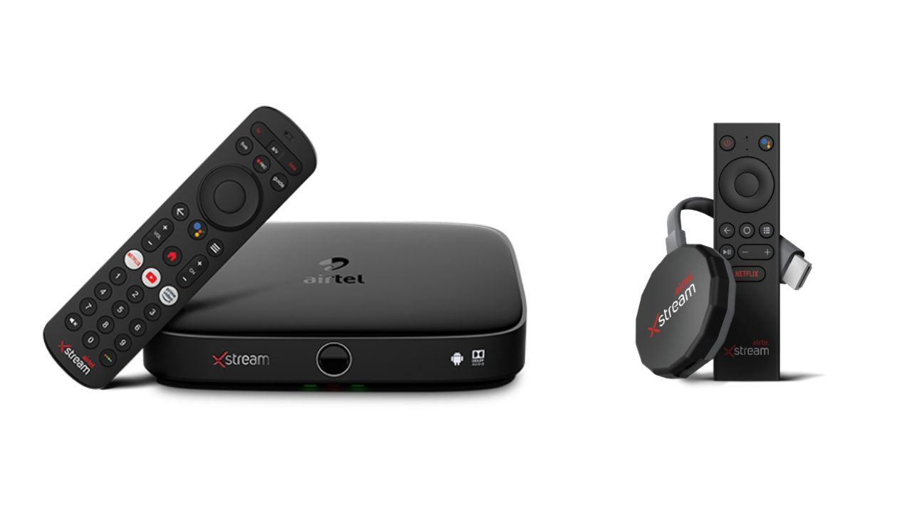 Airtel Xstream Box, Xstream Stick launched in India for Rs