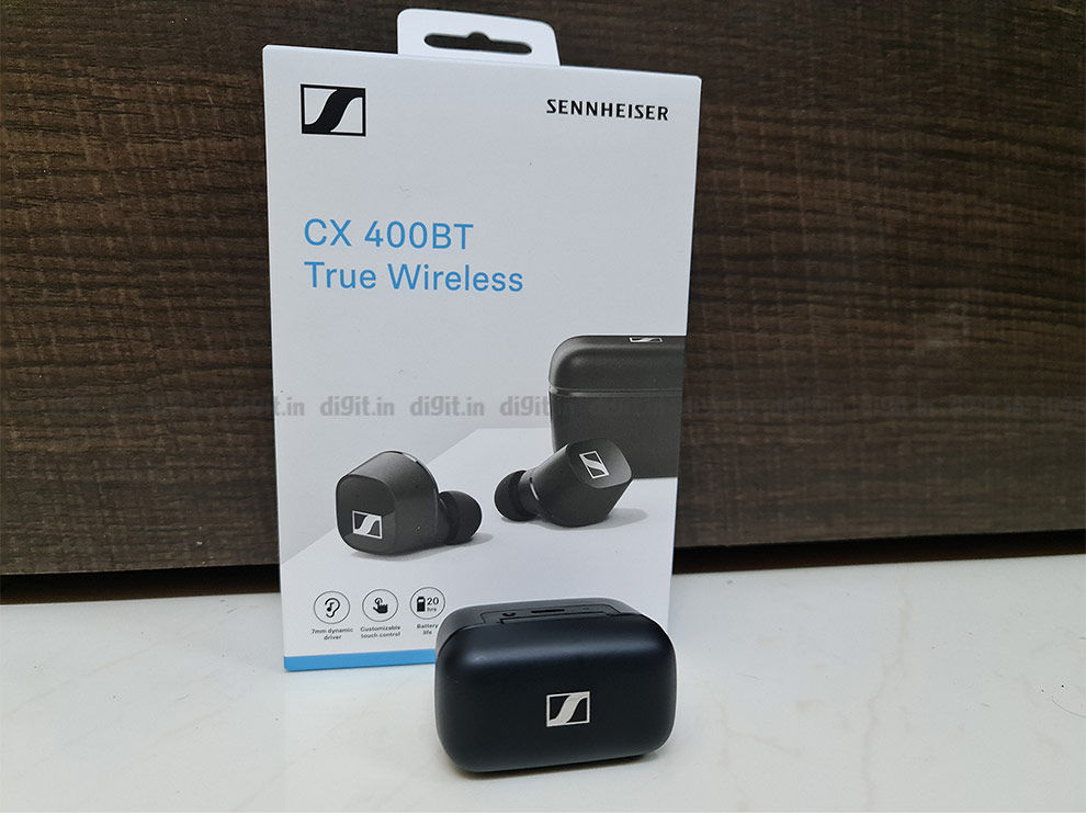 Sennheiser CX 400BT true wireless earphones
