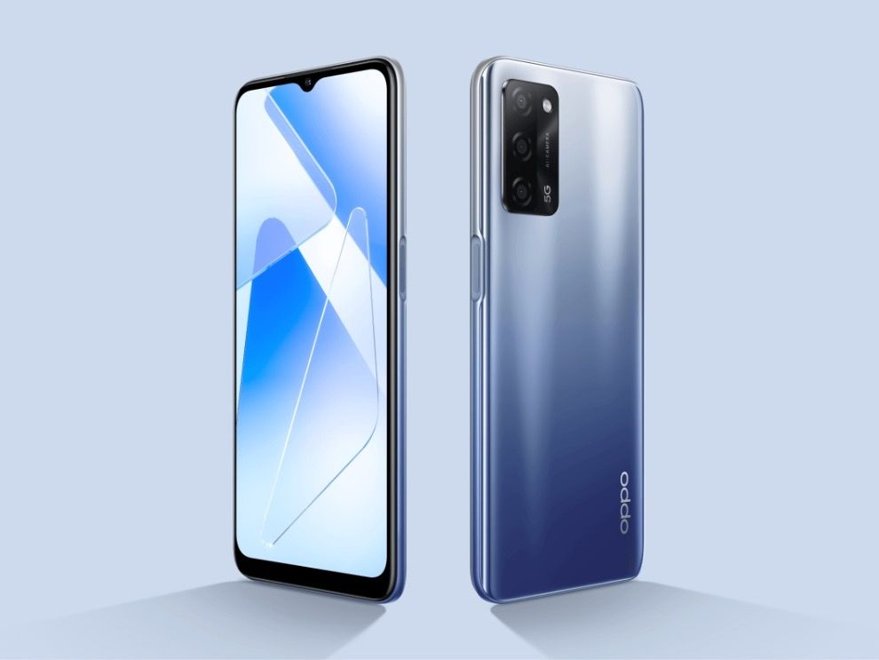 Oppo A53s 5G Design and Display