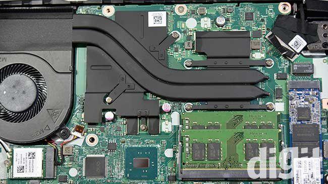Acer Nitro V AN515-51 heatsink