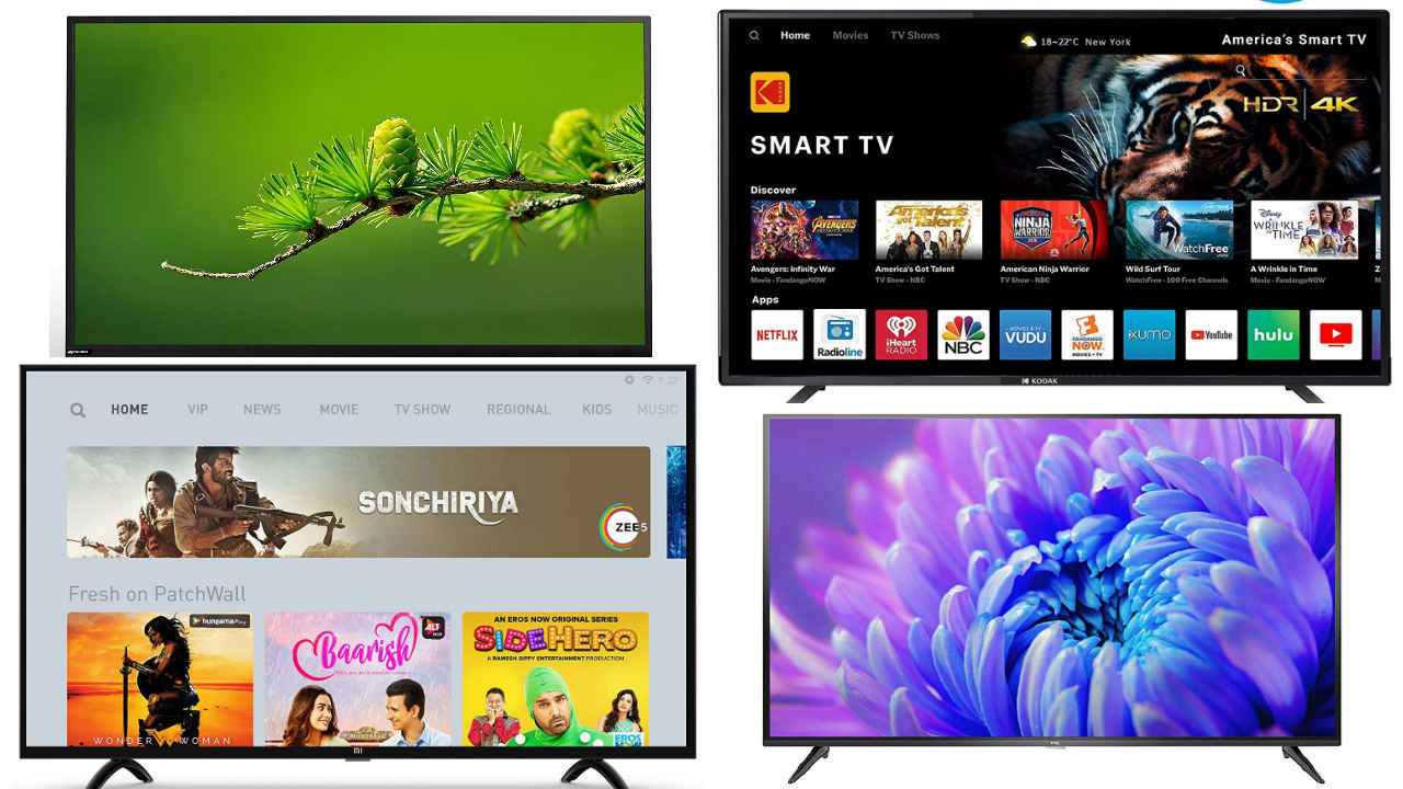 Four 43-inch budget TV's | Digit