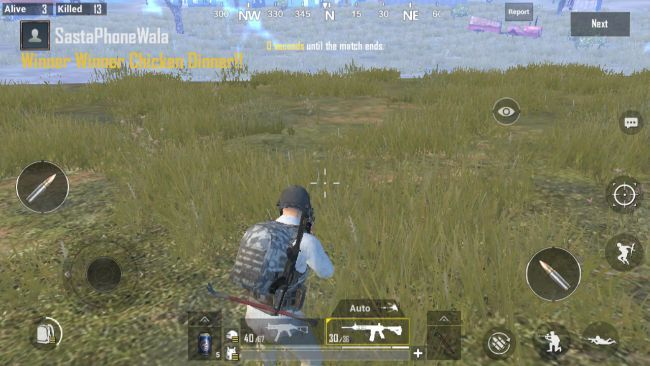 Hands on: PUBG Mobile Lite on an Android Go phone