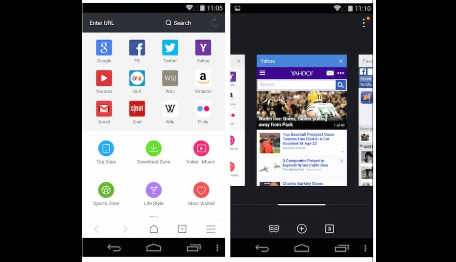 Uc Browser For Android V10 0 Update Brings Revamped Ui And
