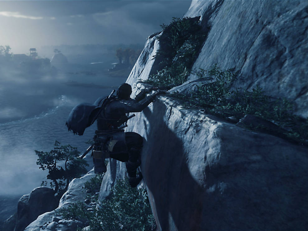 Ghost of Tsushima features traversal as well.