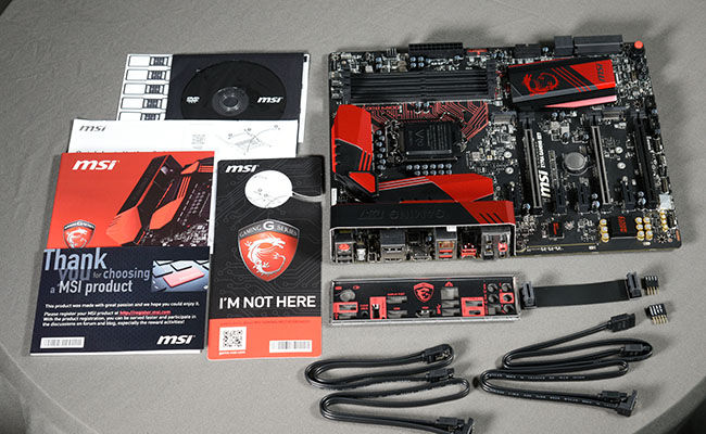 MSI-Z170A-Gaming-M7-Motherboard-Skylake-box-contents