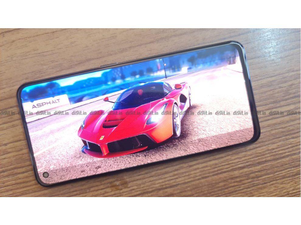 Realme X7 Max 5G: Display