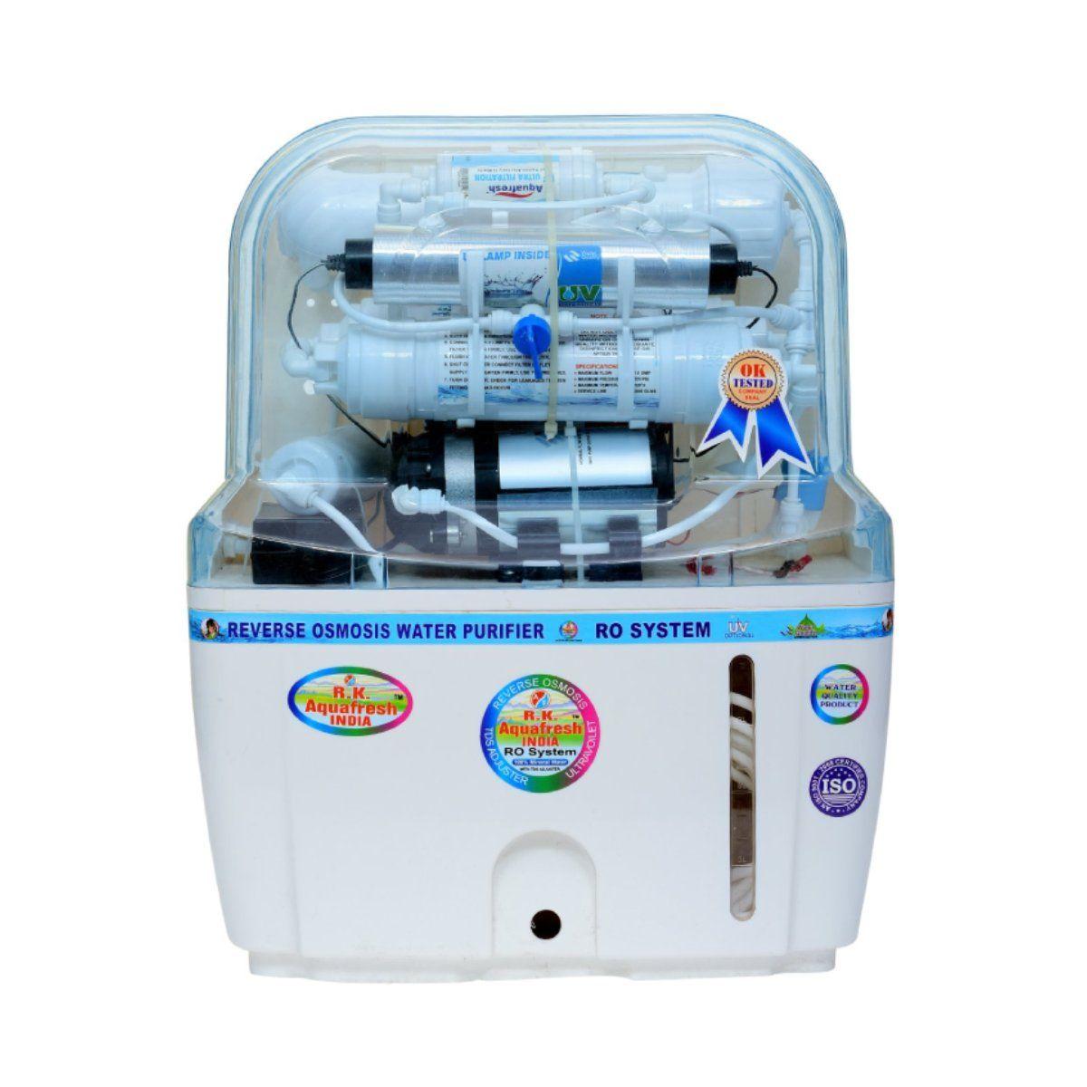 Aqua Fresh RO+UV+UF+TDS Adjuster 15 L RO Water Purifier