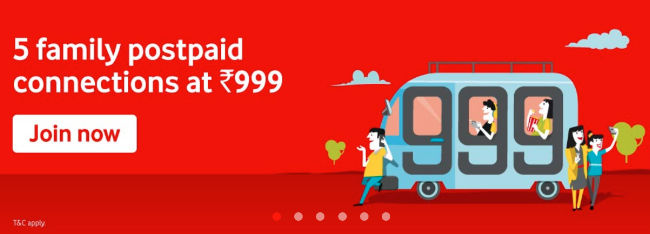Vodafone Idea announces new Red Together postpaid plans for family