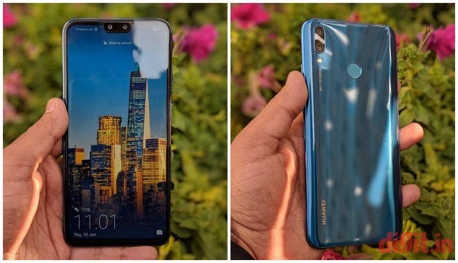 Image result for Huawei Y9 (2019) With 4 Cameras, Display Notch Launched in India