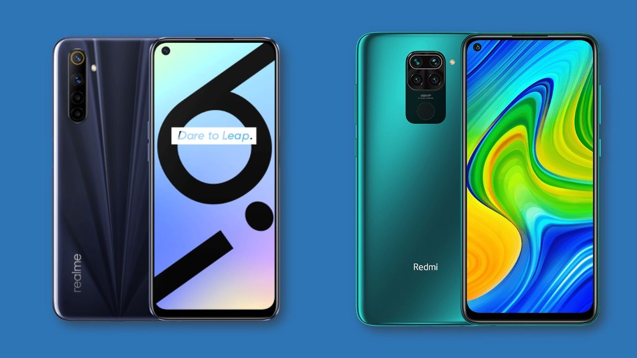 Realme 6i vs Xiaomi Redmi Note 9: Specifications and pricing in contrast
