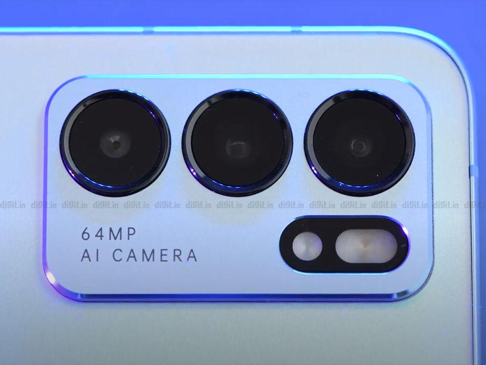 ओप्पो रेनो 6 5जी कैमरे