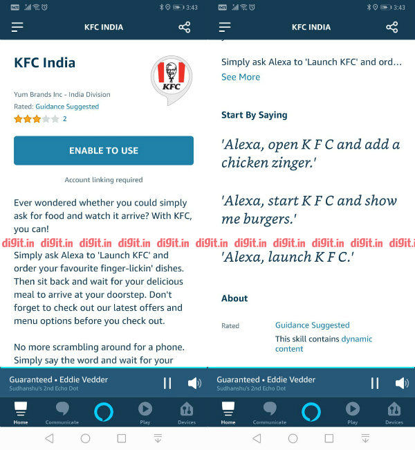 Ask Alexa to order 'Finger Lickin' food as Amazon ties up with KFC India