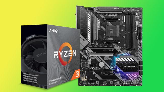 PC desktop workstation AMD Ryzen MSI Processor Motherboard