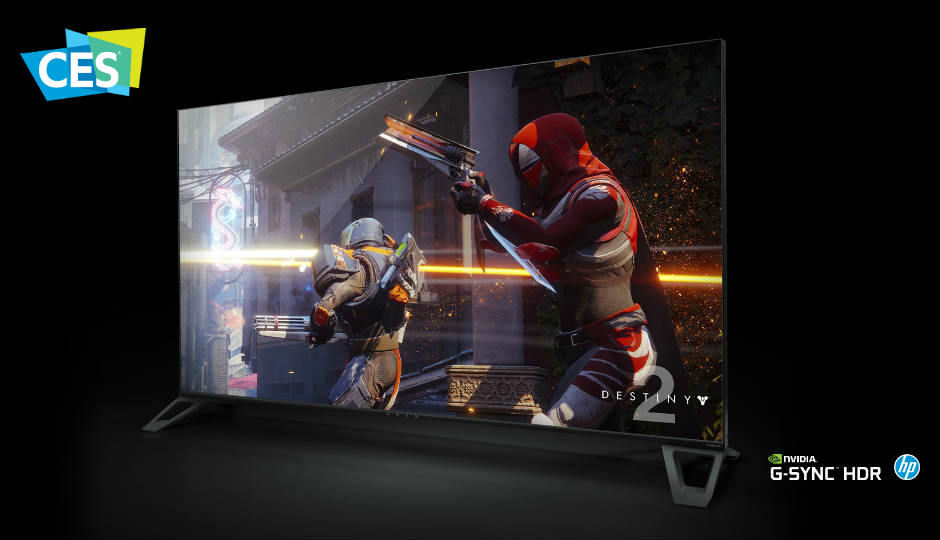 NVIDIA partners with Acer, HP and Asus to bring 65-inch 4K 120Hz HDR displays at CES 2018