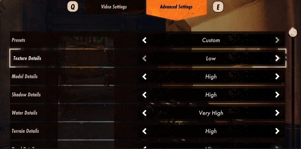 Deathloop PC settings graphics