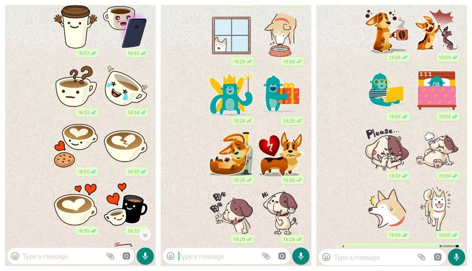 stickers en whatsapp android